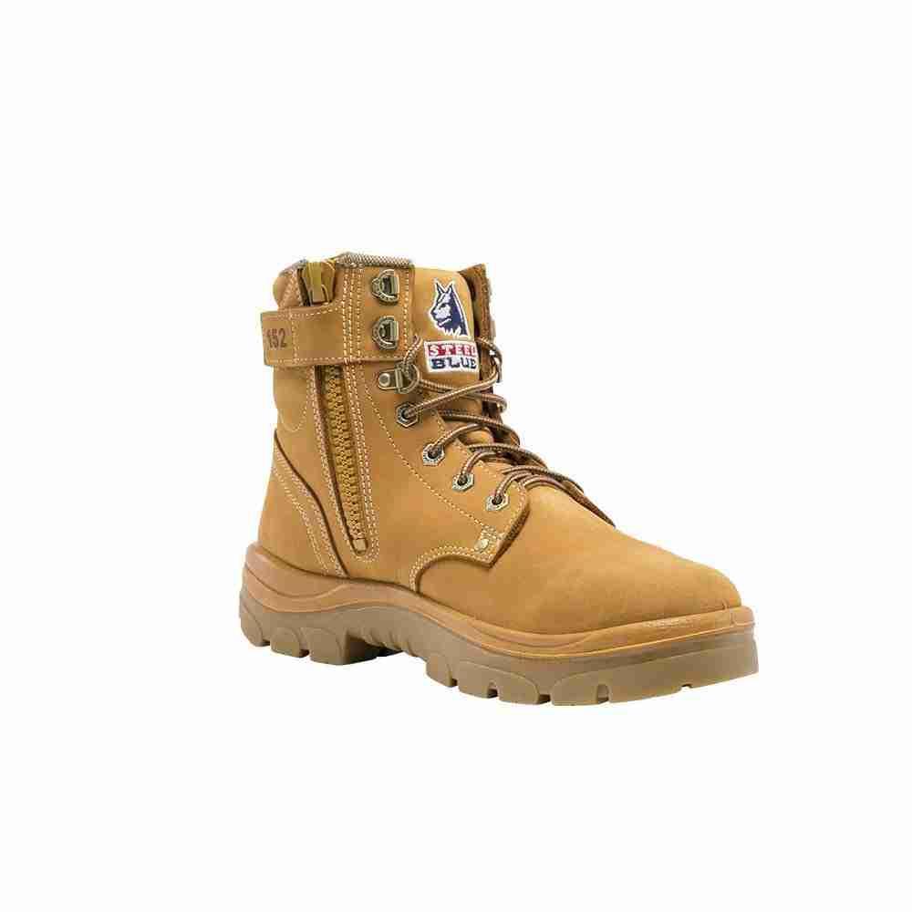 Steel Blue Argyle Safety Boot w/Zip - 312152