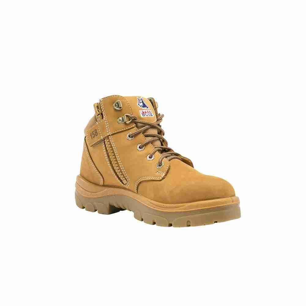 Steel Blue Parkes Safety Boot w/Zip- 312158