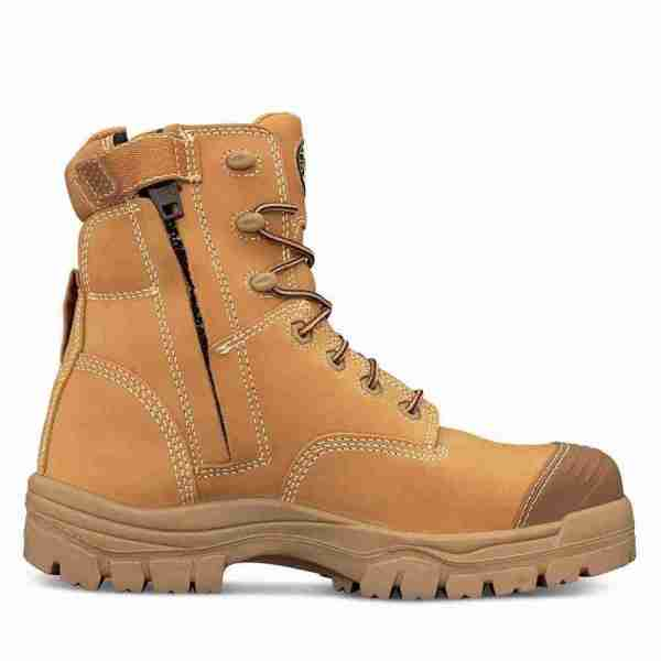 Oliver 150mm Wheat Zip Sided Boot - 45-632Z