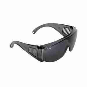 Visitors Safety Glasses Smoke Lens