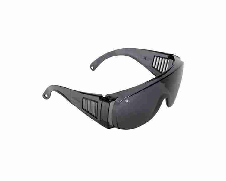 Visitors Safety Glasses Smoke Lens