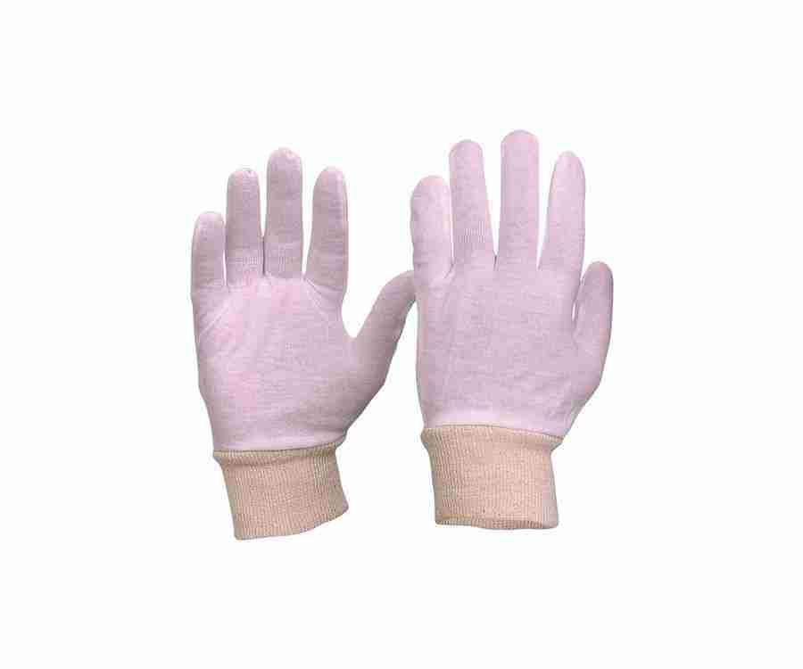 Interlock Poly/Cotton Liner Hemmed Cuff Gloves