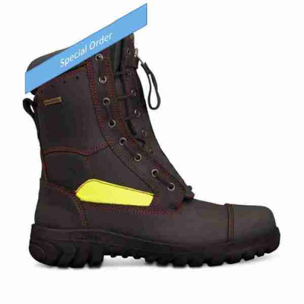 Oliver 230mm Lace Up Structural Firefighters Boot - 66-495