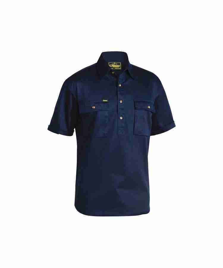 Bisley Closed Front Cotton Drill Shirt - BSC1433