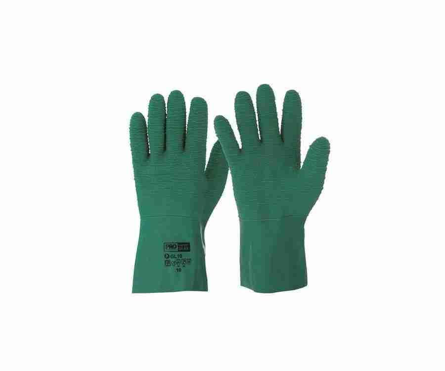 Green Gauntlet Gloves