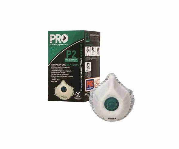 Dust Masks P2+Valve+Carbon