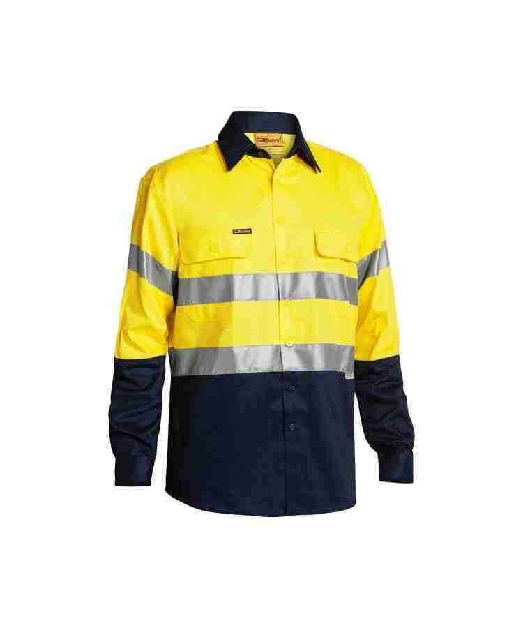 Bisley 3M Taped Hi Vis Drill Shirt - BT6456