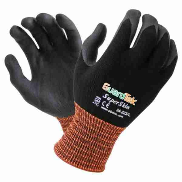 Guardtek Superskin Open Back Gloves - 34-323