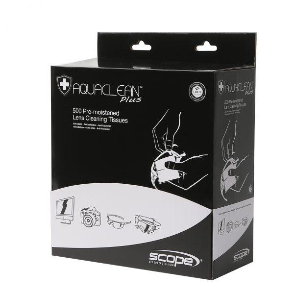 Aquaclean Lens Cleaning Wipes Box 500