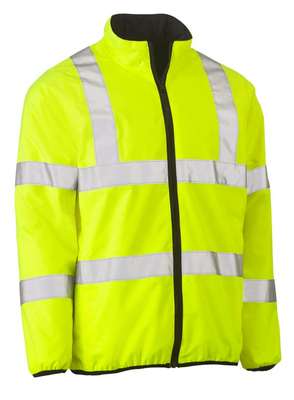 Bisley Taped Hi-Vis Reversible Puffer Jacket