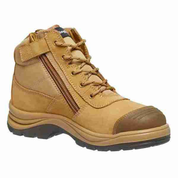 KING GEE – MENS TRADIES ZIP SIDE BOOT K27100