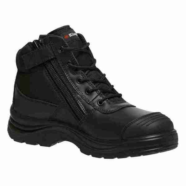 KING GEE - MENS TRADIES ZIP SIDE BOOT K27150